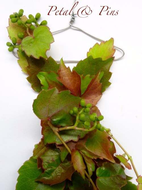 leaf bodice