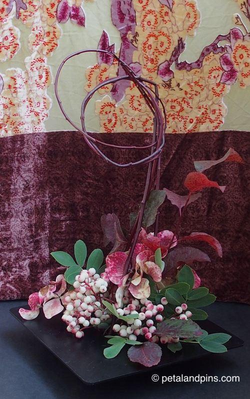 ikebana and velvet