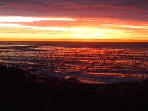 sunrise Blackwoods Beach Sydney