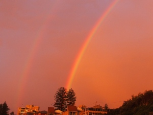 rainbows over South Cronulla