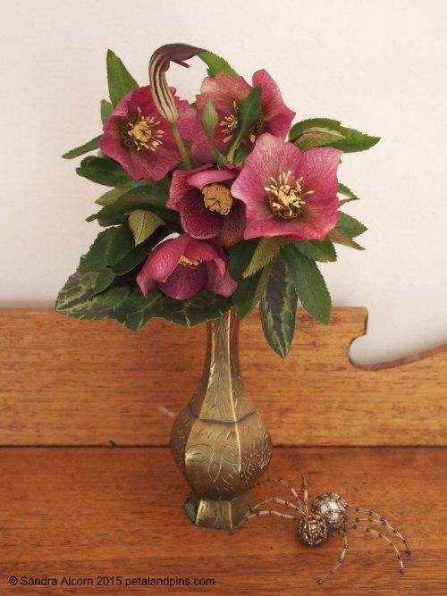 hellebore vase