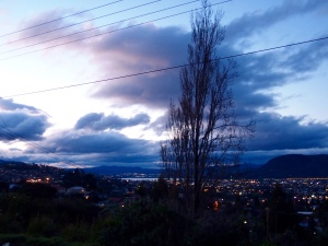 twilight in Hobart