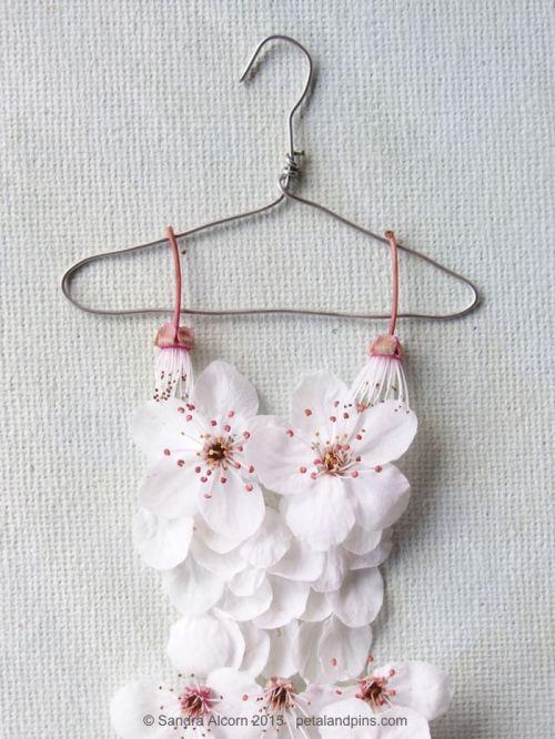 blossom dress bodice detail