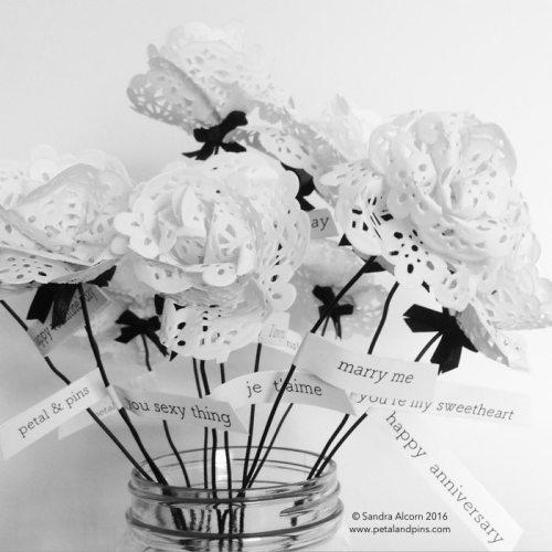 petal & pins paper ephemera