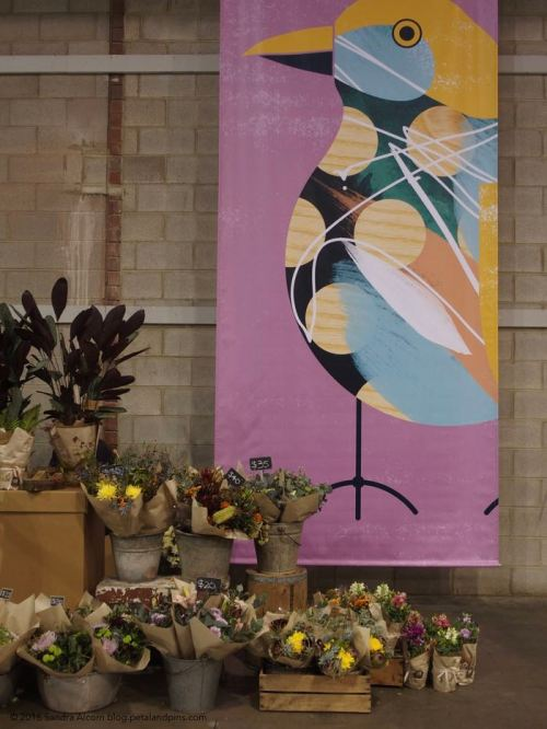 Bowerbird banner and pop up flowershop