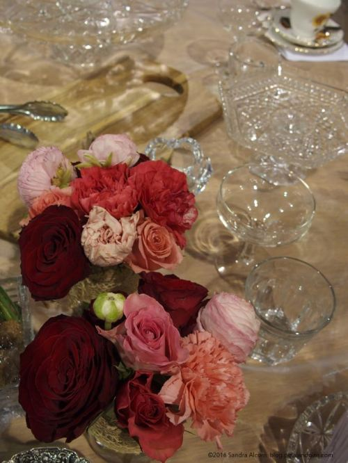 Mother's Day high tea table setting