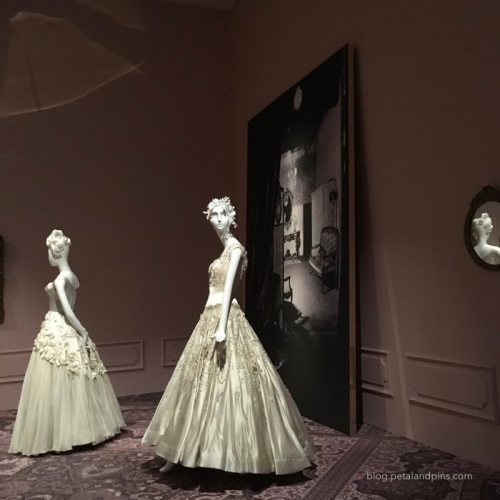 dresses in an exhibition