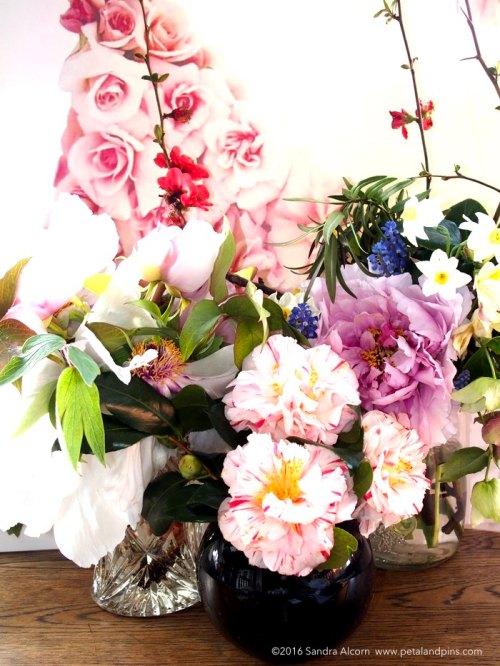 spring vase trio