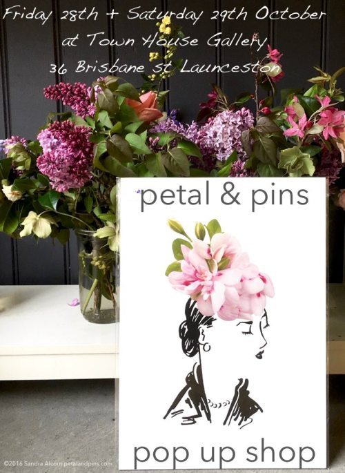 petal & pins pop up shop at Town House Gallery