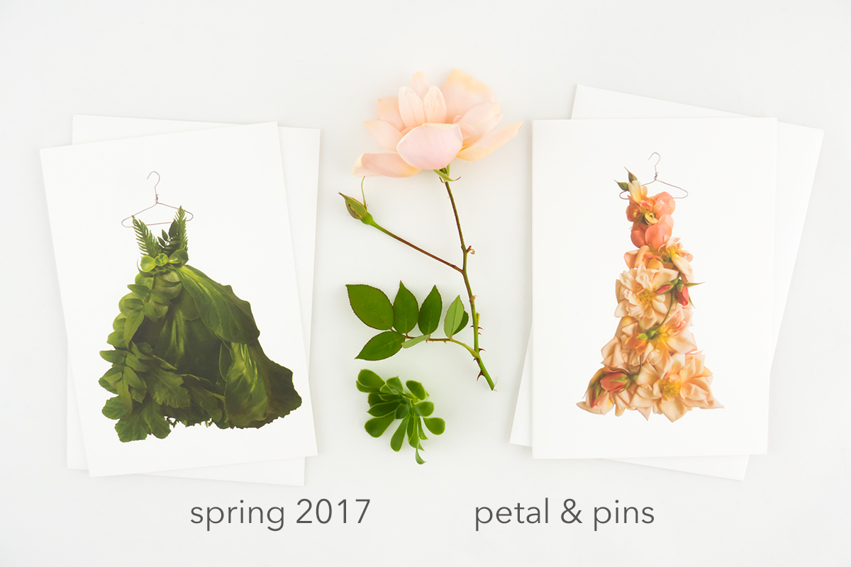 spring 2017 tableau greenery dress and perle d'or