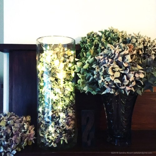 autumn style mantle by petal & pins